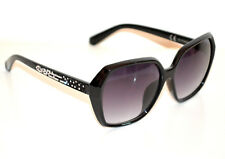 OCCHIALI da SOLE NERI donna lenti aste strass brillantini Sun glasses G5