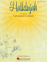 Hallelujah - Leonard Cohen - Einzelausgabe für Klavier, Gesang und Gitarre