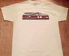 SKEETER BOATS T-Shirt WHITE XX-LARGE W/FREE Sticker DECAL YOU GET 2 Bass Boat