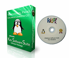 CHILDRENS KIDS EDUCATIONAL LEARNING FUN GAMES SOFTWARE CD +ENGLISH & MATHS GAMES