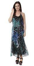 BNWT Orientique Animal Instinct Halter Dress Size 12 RP $122.50