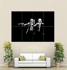 Banksy Pulp Star Wars Huge Poster