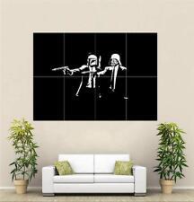 Banksy Pulp Star Wars Huge Poster