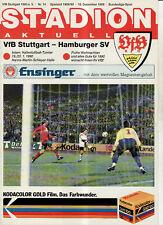 BL 89/90 VfB Stuttgart - Hamburger SV