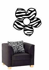 ZEBRA FLOWER Animal  Wall / Car Decal Sticker,  Highest Quality,  BIG or SMALL