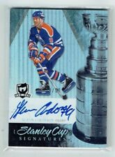10-11 UD The Cup Signatures  Glenn Anderson  /50  Auto  HOF