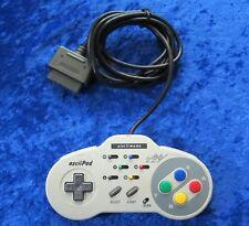 Original Super Nintendo Controller Ascii Pad, SNES GamePad, Top Zustand
