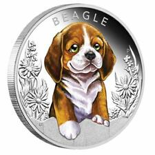 2018 1/2 oz. Silver Proof Coin Puppies - Beagle