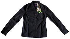 BASTARD Those Lazy Italians Amber black/purple shirt camicia donna nera/viola