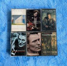 Soft Pop Rock 6 Cassette Tape Lot Eric Clapton Gordon Lightfoot Michael Crawford