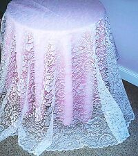 Tablecloths Round Julia White 70 Inch Round Lace Tablecloth Oxford House