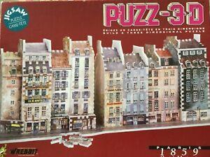"""PUZZ-3D """"Paris 1859 Quai de Megisserie"""" Great puzzle to assemble!"""