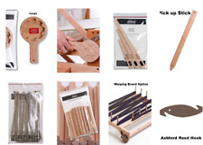 Ashford Weaving Tools: Shuttle, Weights, Pegs, Wax, Hand-cream, Handles