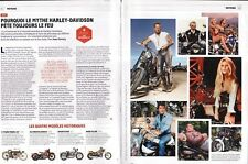 Coupure de presse Clipping 2012 Le Mythe Harley Davidson  (3 pages)