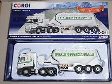 Corgi SCANIA R Feldbinder Tanker Liam Kelly Haulage - CC13767