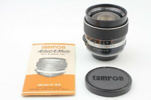 [N.Mint] Tamron 28mm f/2.8 Wide Angle Lens for Pentax M42 Screw Mount From JAPAN