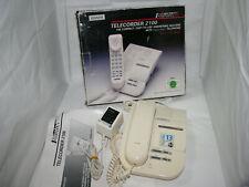 ✔️☎️ BOXED BINATONE TELECORDER 2100 CORDED PHONE WITH TAPE ANSWERING MACHINE