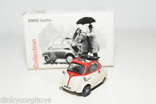 SCHUCO BMW ISETTA CREAM WITH RED MINT DEALER BOXED