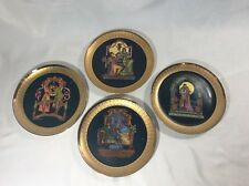 Set of 4 1980 Royal Cornwall Classic Collection Love's Precious Moments Plates