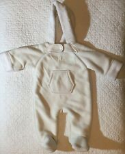 Ralph Lauren Baby One Size Faux Shearing Sherpa Bunting Snowsuit Polyester