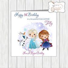 SNOW WHITE Personalised Birthday Card FREE ShippingDisney Daughter Girls Mum