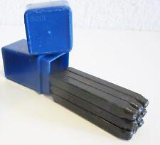 PUNZONI NUMERATI NUMERICI NUMERI SET kit METALLO 5 mm legno 15636 falegname 9 pz