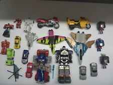 vintage G1 and recent Transformers Planes Cars Moto and other gobots robots lot