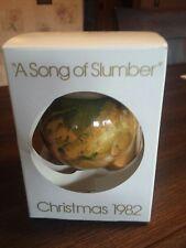 "Schmid ""A Song of Slumber"" Christmas Ornament 1982 5th Ltd Ed. Juan Ferrandiz"