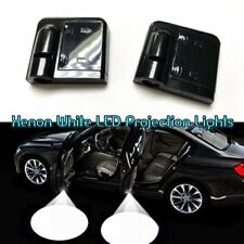 2x Wireless Ghost Shadow Projector LED Door Courtesy Welcome Light For Jaguar
