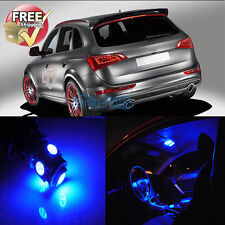 Blue Interior LED Light Package 20Pcs (include License Plate LED) For Audi Q5