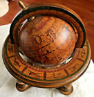 Vintage Old World Globe Desktop Celestial Zodiac Astrology Signs Made in Italy