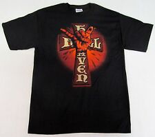 HEAVEN & HELL T-shirt Heavy Metal Dio Iommi Sabbath Tee Adult MEDIUM Black New