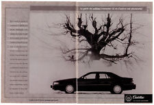 1994 CADILLAC Seville STS Vintage Original 2-page Print AD A Cornellier photo CA