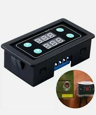 ICStation Digital Timer Relay AC 85-265V 110V 220V 2000W 10A HD LED Dual Time