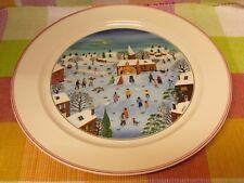 V&B  VILLEROY & BOCH - DESIGN NAIF CHRISTMAS - Platte rund  d=31cm