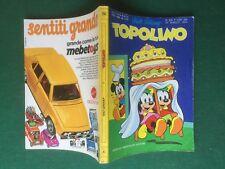 Disney TOPOLINO Libretto n.956 con BOLLINI CLUB 24/3/1974 GUSTAV THONI MEBETOYS
