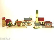 Faller Häuser Kirche Stellwerk, Kiosk usw Top 800 Spur H0