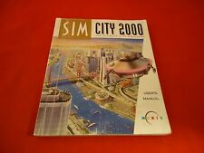 Sim City 2000 Computer PC Strategy Guide Player's Hint Book SimCity