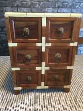 Beautiful Vintage Small Table Top Solid Wooden Draws. Good Condition