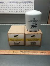 2/PACK of Napa Gold 1774 Oil Filters. 51774 WIX Fits Ford, New Holland