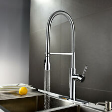 The Foodie 1H Pre-Rinse Pull-Down Kitchen Faucet 1.75gpm Chrome