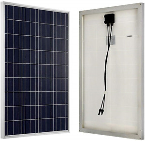 ECO-WORTHY 100W 12 Volt Solar Panel Polycrystalline 100 Watt Solar Module for