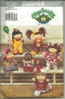 "Butterick Pattern 3720, Clothes for 10&10 1/2"" Cabbage Patch Kids, Used"