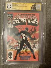 Marvel Super Heros Secret Wars #8 Cgc 9.6 SS 3x Zeck Beatty Stan Lee Venom Label