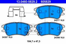 Original ATE Bremsbelagsatz 13.0460-5839.2 vorne