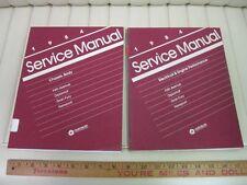 1984 Chrysler / Dodge / Plymouth RWD Cars Shop Manual Set