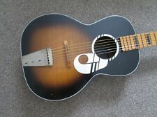 Kay ''Note'' acoustic parlour blues guitar - USA made - early sixties.