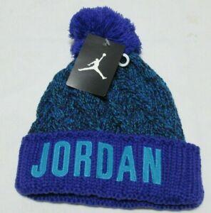 Jordan Blue Beanie Youth Boy  Size 8/20