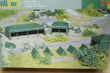 HO 1/87 Herpa Military # 745826 Tent Set (7)
