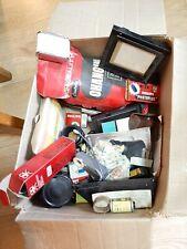Job lot box of vintage photography / darkroom items